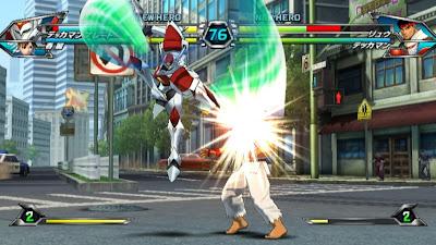 Tatsunoko vs Capcom All Ultimate Stars13 Nuevas imagenes y logo Americano de Tatsunoko vs Capcom Uiltmate Stars