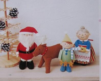 Christmas ornaments, cotton time