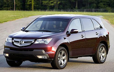 2009 Acura MDX, car collection