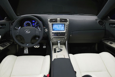 Lexus IS F Sports Car Interior