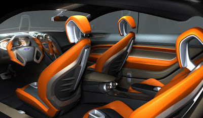 Ford Losis Concept Car Interior Design