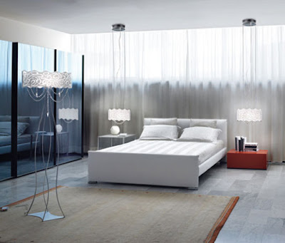 Modern Glass Lamps Design Interior Lighting Bedroom