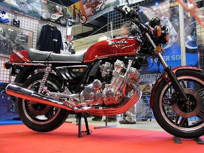 Honda CBX Super-Sport, classic motorcycle, honda