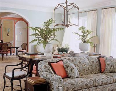 Bright + breezy tropical living room, living room, interior design, home interior