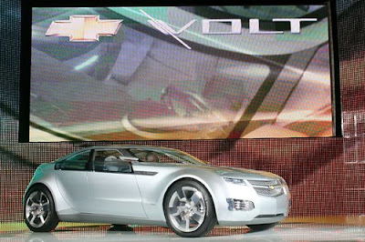 Chevrolet Volt, Chevrolet, sport car, car, luxury car