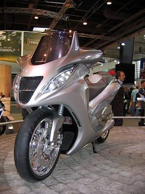 Honda Concept Scooter, Honda, Scooter