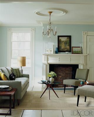 creamy neutrals midcentury modern living room, living room, interior design, home interior