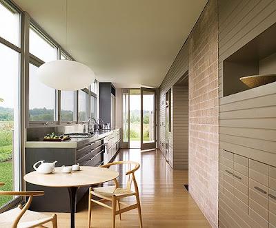 Modern Poggenpohl galley kitchen - interior design, kitchen, interior design