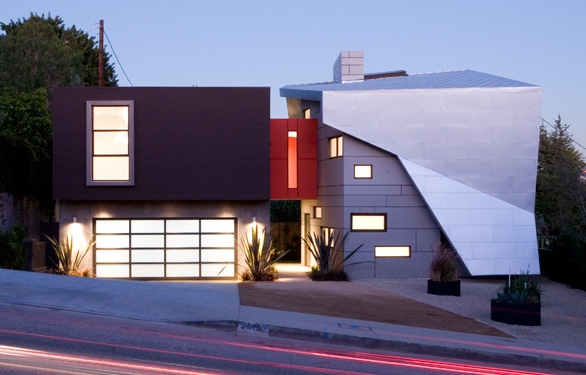 The modern geometric home — luxury home