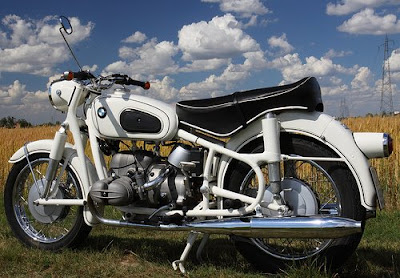 classic motorcycle, bmw