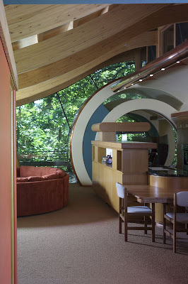 Whimsical Wooden Tree House, modern house design, interior design, exterior house design