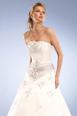Eden Bridals wedding dresses, strapless dress