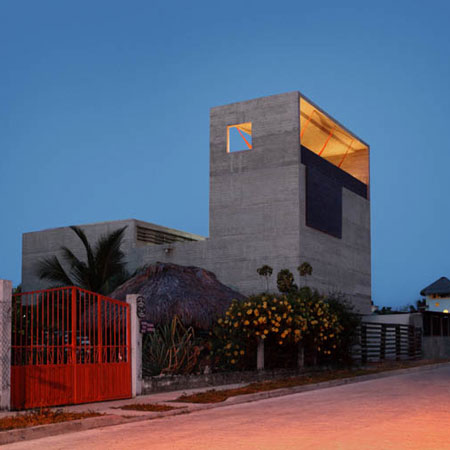 House on the Mexican Pacific Coast
