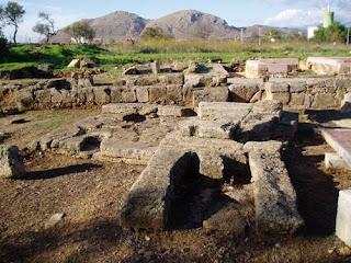 Una altra vista de Pollentia, el Forum romà