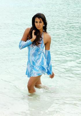 telugu actress sanjana hair styles