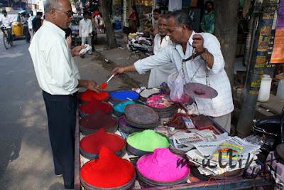 Indie, Hyderabad, farbki