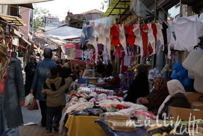 Istambul, bazarek