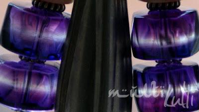 kolczyki fiolety