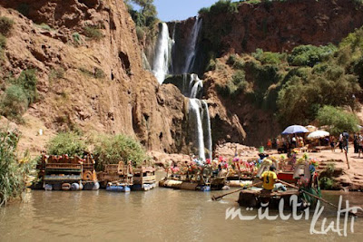 Maroko, Cascades d'Ouzoud