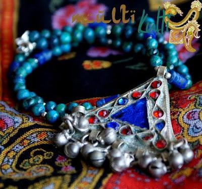 etniczny naszyjnik z syrii