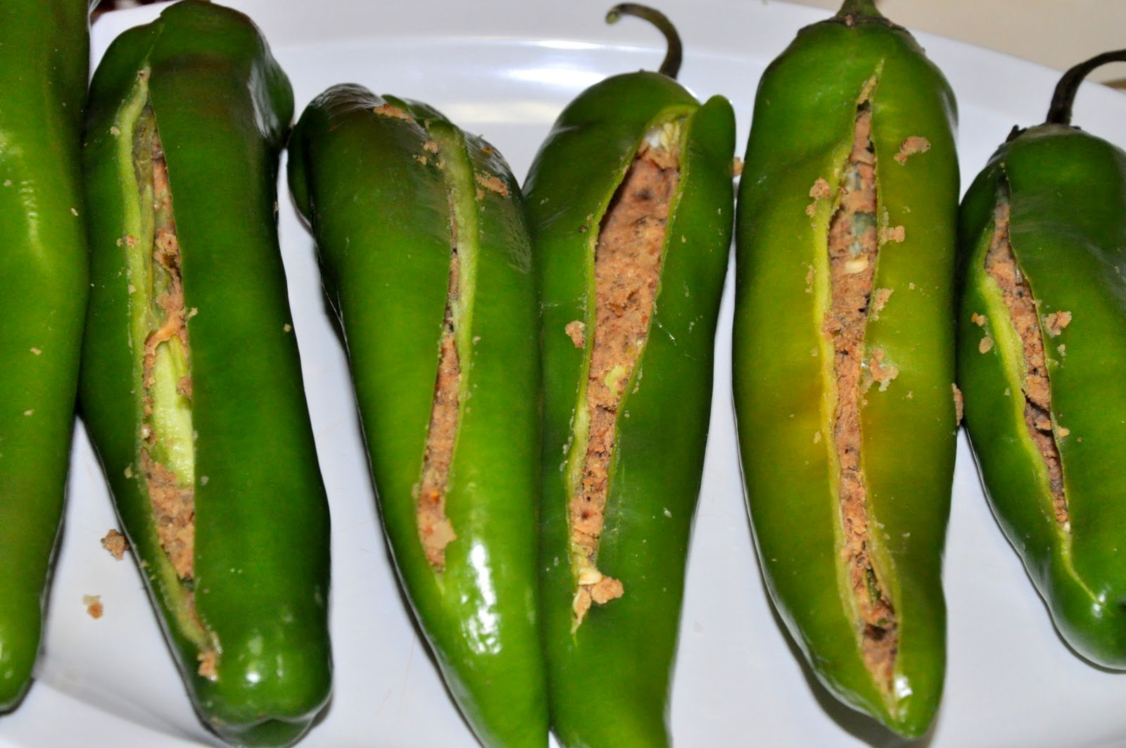 how to make stuffed hot peppers