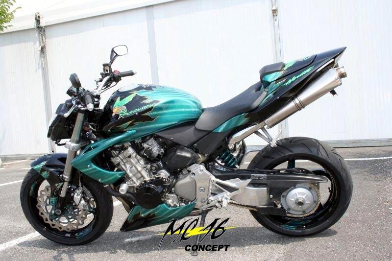 On BikeBound.com: Elisium Honda CB600F Hornet by Russias