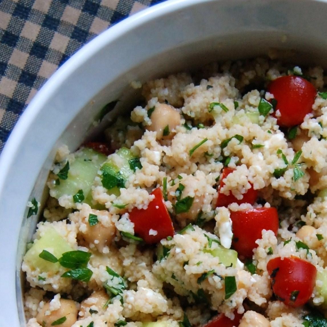 The Broken Oven: Mediterranean Couscous Salad