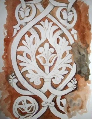 Acuarela medina azahara - Medina azahara decoracion ...