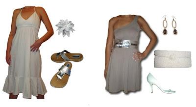 vestidos e acessórios para o reveillon
