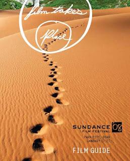 Cartel oficial de la guía del Festival de Sundance 2008.