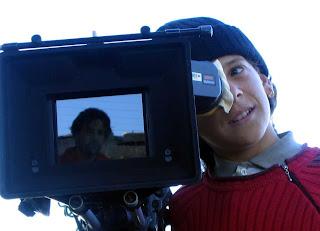 Imagen del rodaje de La leyenda del tiempo. c. Mallerich Films.