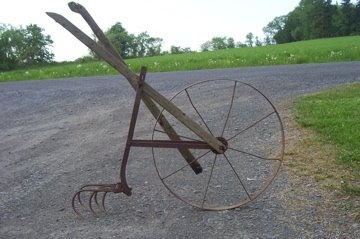 Anyone Can Build A Planet Whizbang Wheel Hoe