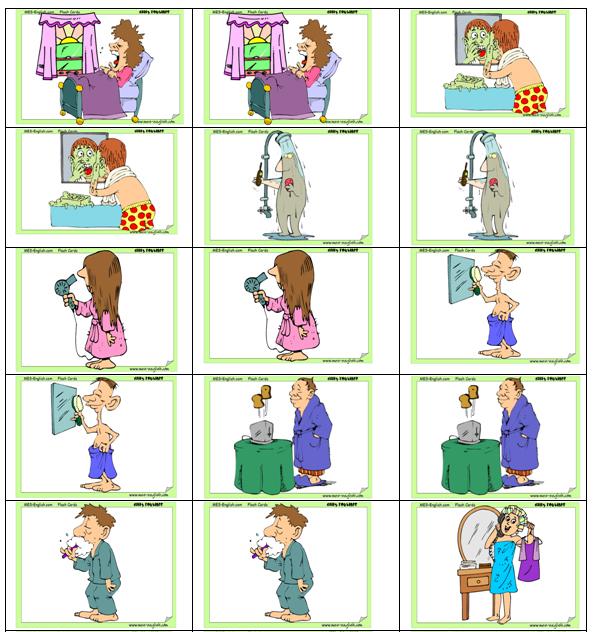 Memoramas en inglés - Imagui