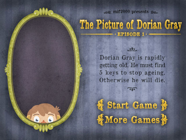 Experimental game picture of dorian gray