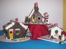 Deliciosas casas de chocolate