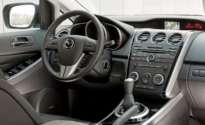 2010 Mazda CX-7 2.2 MZR-CD Diesel Dashboard