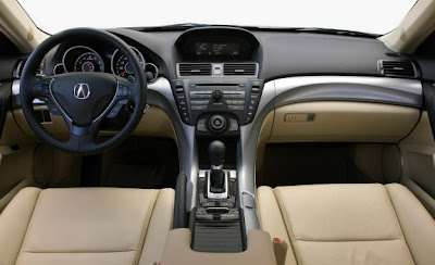 2010 Acura TL SH-AWD Manual interior