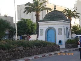 le marabout de sidi Maaouia à Nabeul