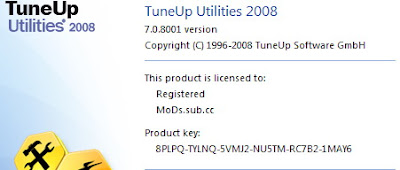 TuneUp Utilities 2008 v7.0.8001