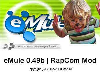 eMule 0.49b rapcom mod v.1.1