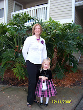 "Mommy and Griffin dressed up for ""The Nutcracker"""