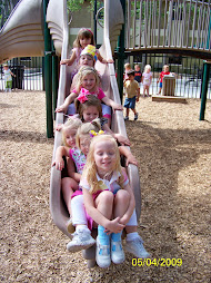 Weee...Girls on the Slide