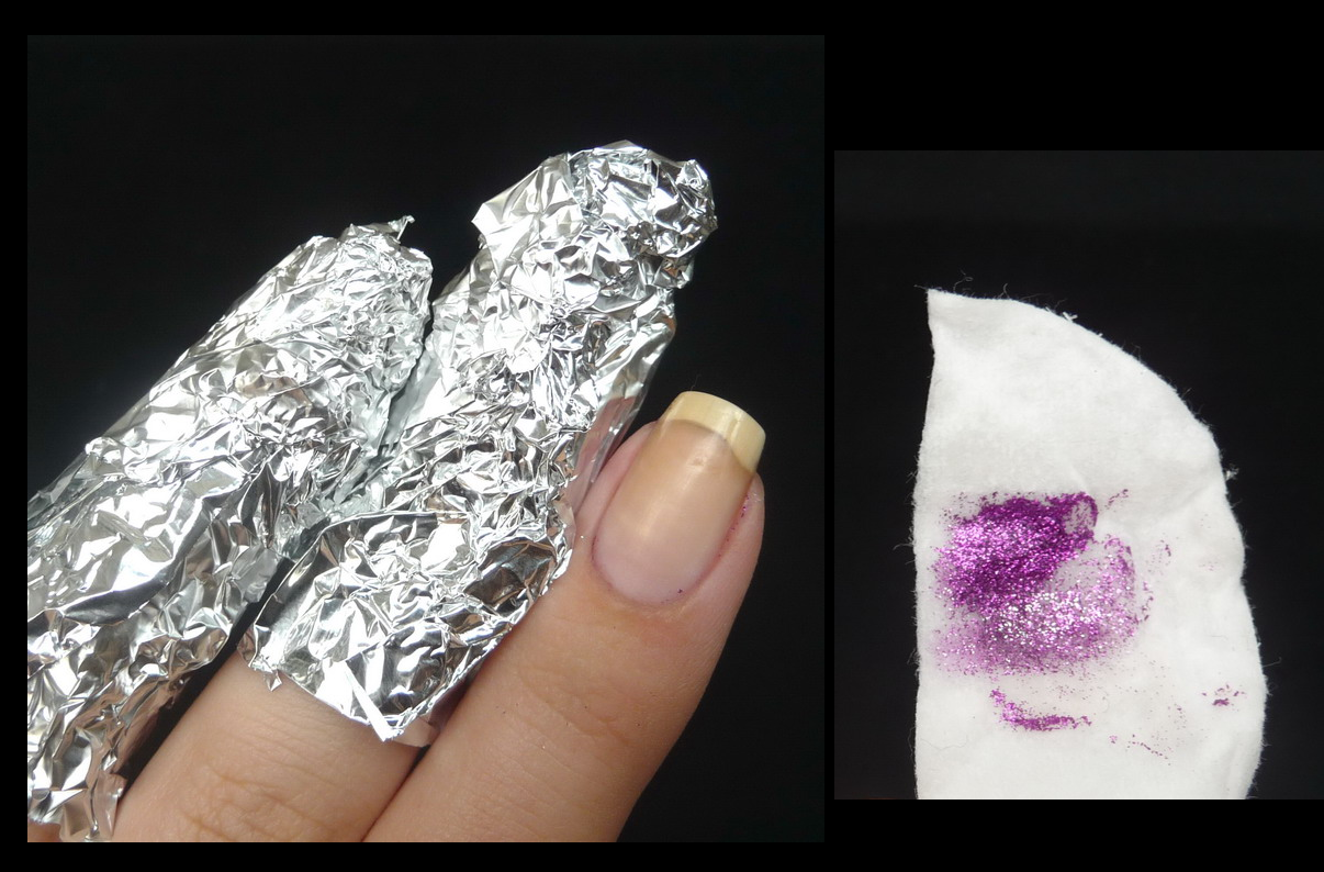 Now because soaking your fingers 8 minutes in a nail polish remover isn´t ...