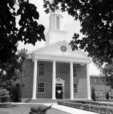 Chapel at Ouachita Baptist College (now Ouachita Baptist University) in