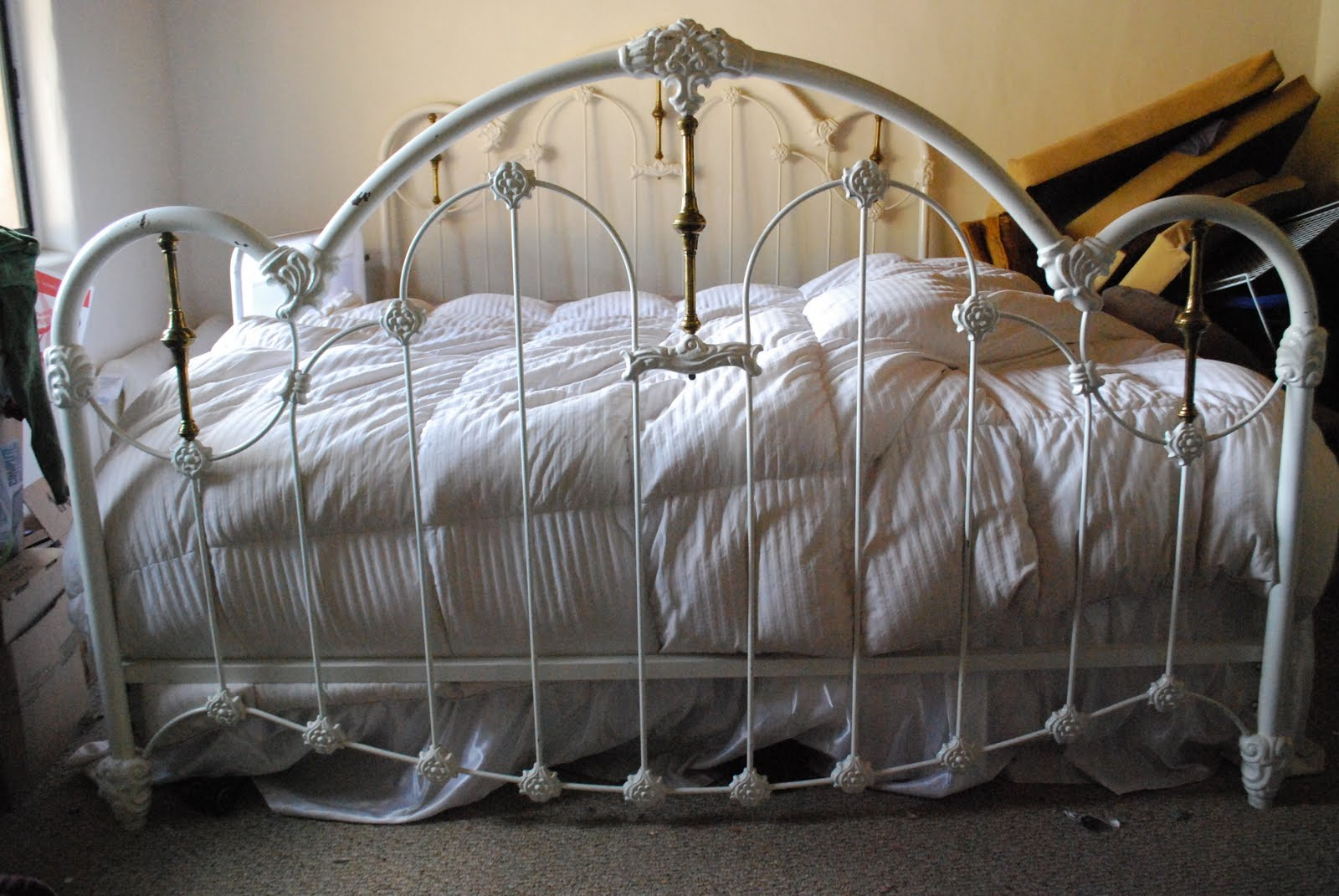 Image Result For White Wrought Iron Headboard Twin
