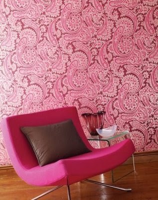 Rooms by Color: Pink and Brown Rooms