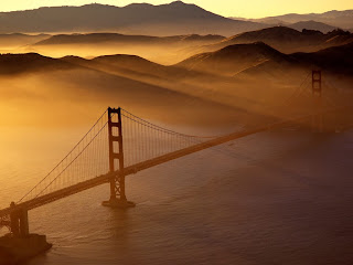 golden gate bridge at its most beautiful.
