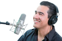 La voz en la radio