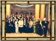 Barcellona 28 maggio 2005 -Istituzione del merito umanitario  Riconoscimento alla Presidenza