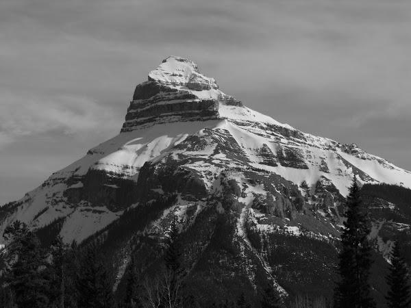 A Mountain!